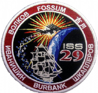 International Space Station Expedition 29 Embroidered Patch